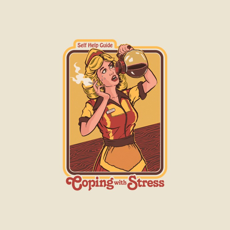 Coping With Stress Home Blanket by Steven Rhodes