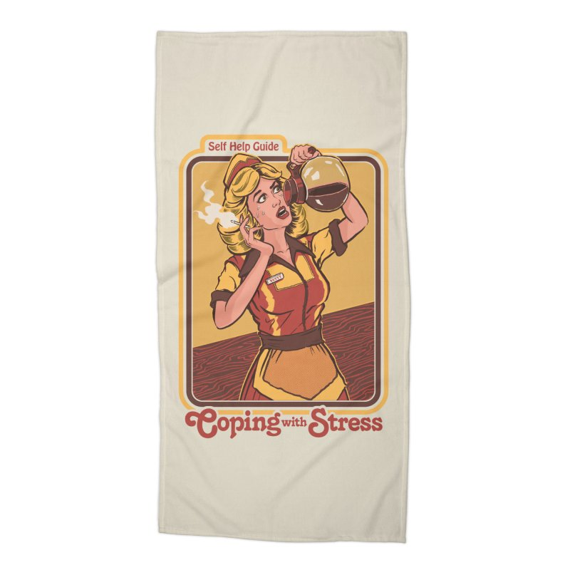 Coping With Stress Accessories Beach Towel by Steven Rhodes
