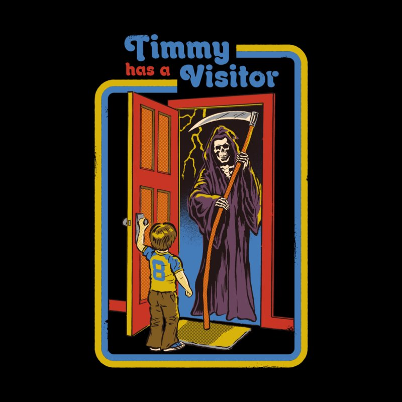 Timmy has a Visitor Women's T-Shirt by Steven Rhodes