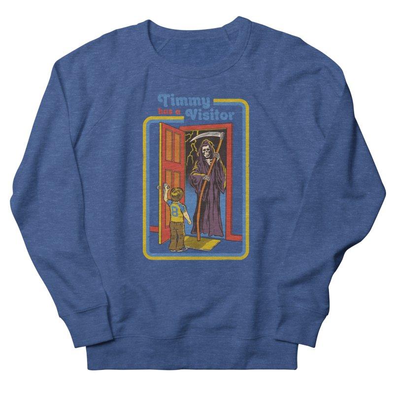 Timmy has a Visitor Men's Sweatshirt by Steven Rhodes