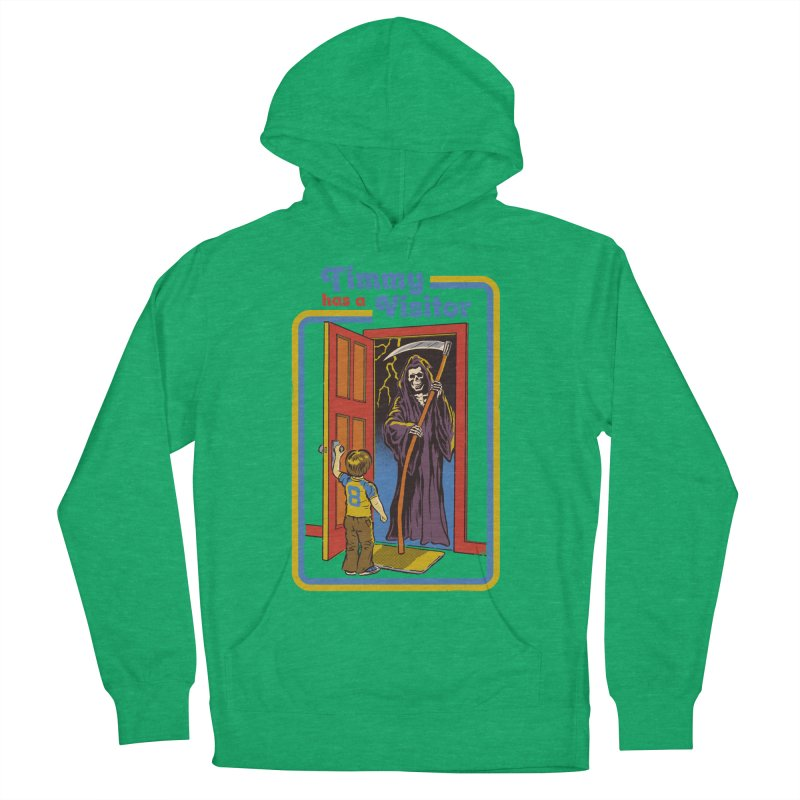 Timmy has a Visitor Men's Pullover Hoody by Steven Rhodes