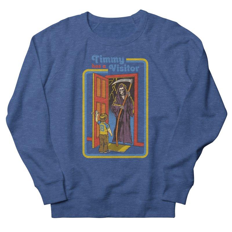 Timmy has a Visitor Women's Sweatshirt by Steven Rhodes