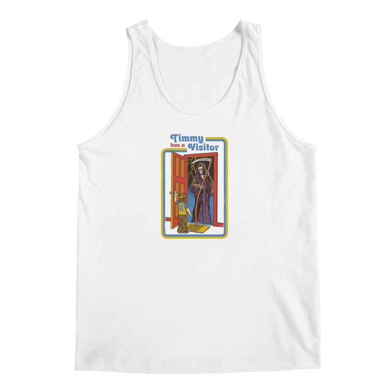 Timmy has a Visitor Men's Tank by Steven Rhodes
