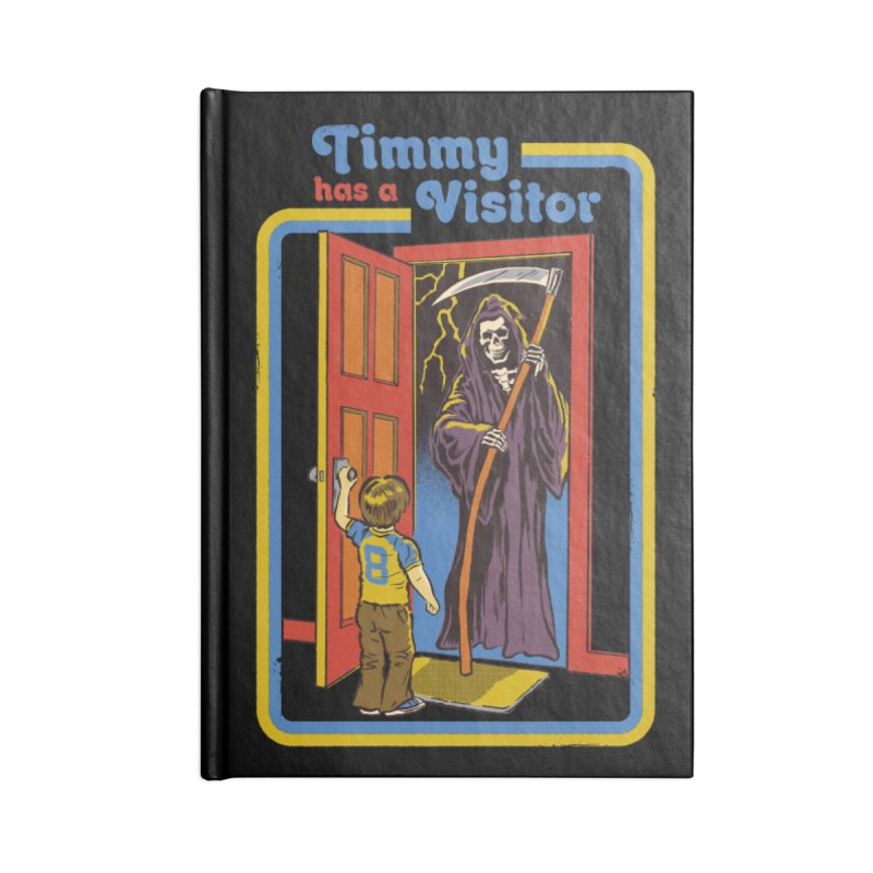 Timmy has a Visitor Accessories Notebook by Steven Rhodes