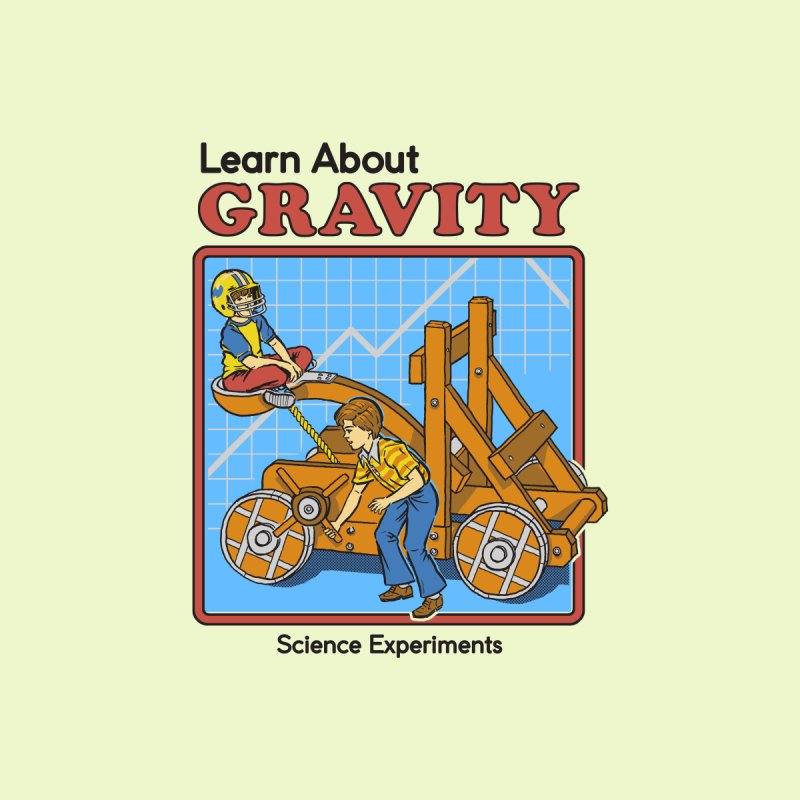 Learn about Gravity by Steven Rhodes