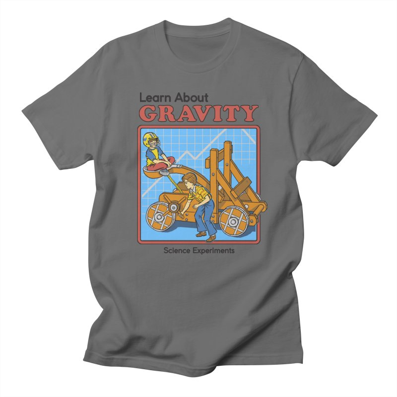 Learn about Gravity Men's T-Shirt by Steven Rhodes