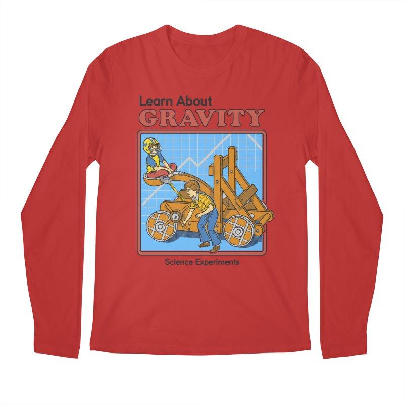Learn about Gravity Men's Longsleeve T-Shirt by Steven Rhodes