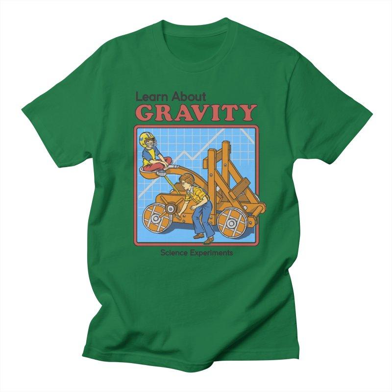 Learn about Gravity Men's T-shirt by Steven Rhodes