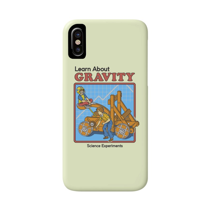 Learn about Gravity Accessories Phone Case by Steven Rhodes