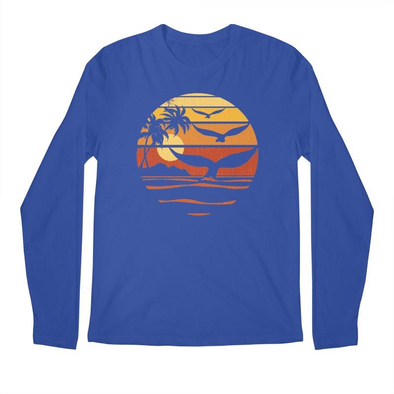 Ocean and Air Men's Longsleeve T-Shirt by Steven Rhodes