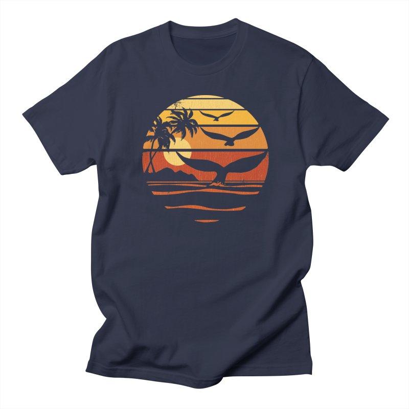 Ocean and Air Men's T-Shirt by Steven Rhodes