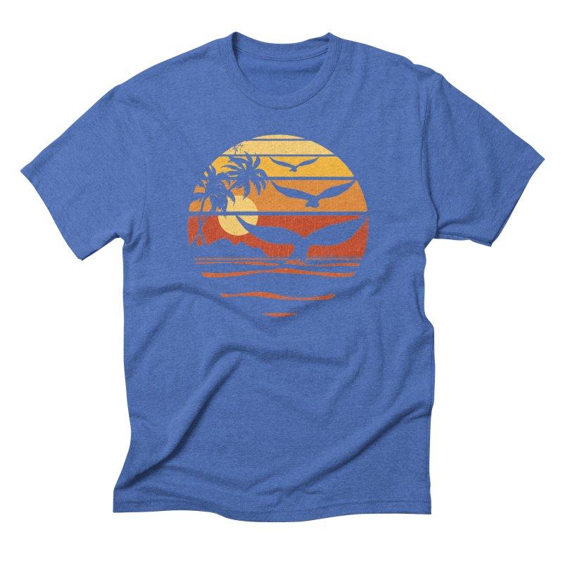 Ocean and Air Men's Triblend T-Shirt by Steven Rhodes