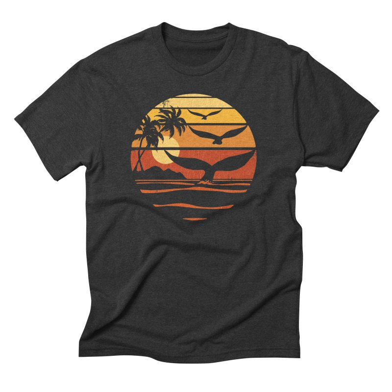 Ocean and Air Men's Triblend T-shirt by Steven Rhodes