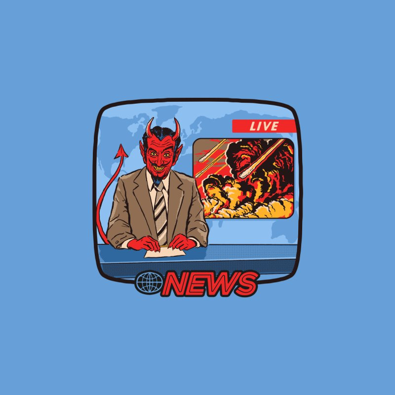Breaking News Men's T-Shirt by Steven Rhodes