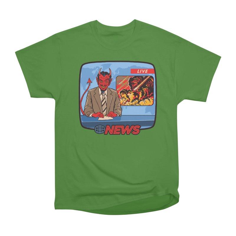 Breaking News Men's Classic T-Shirt by Steven Rhodes