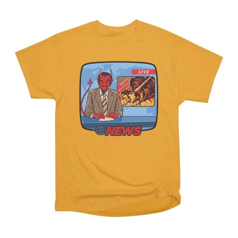 Breaking News Women's Classic Unisex T-Shirt by Steven Rhodes