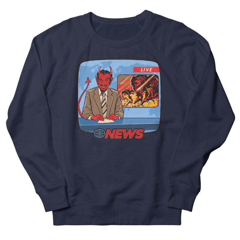 Breaking News Women's Sweatshirt by Steven Rhodes