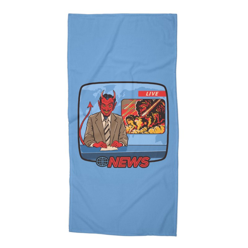 Breaking News Accessories Beach Towel by Steven Rhodes
