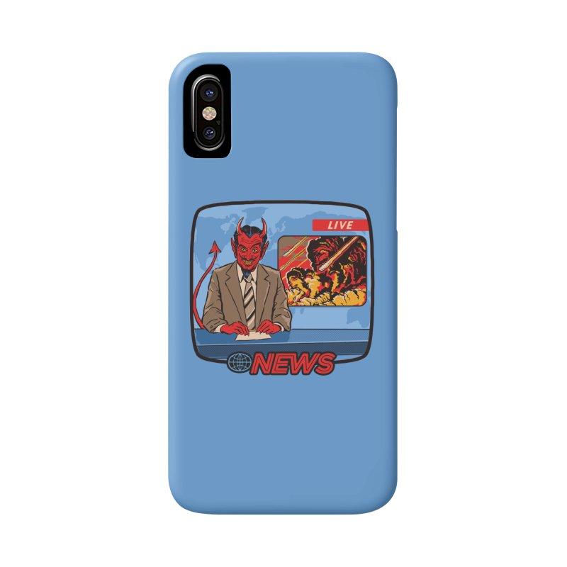 Breaking News Accessories Phone Case by Steven Rhodes