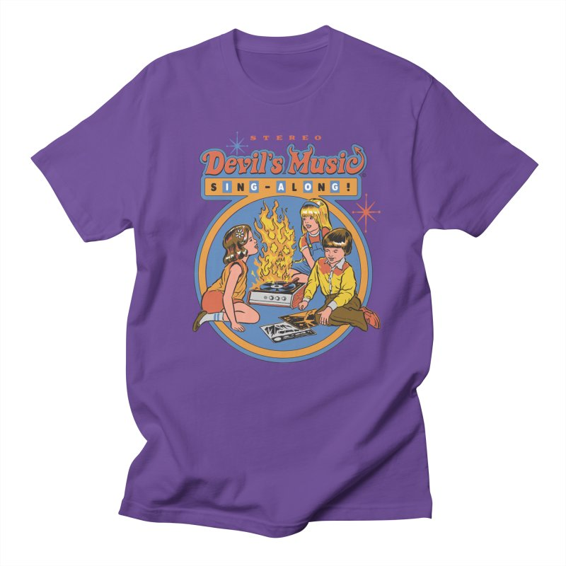 Devil's Music Sing-Along Men's T-Shirt by Steven Rhodes