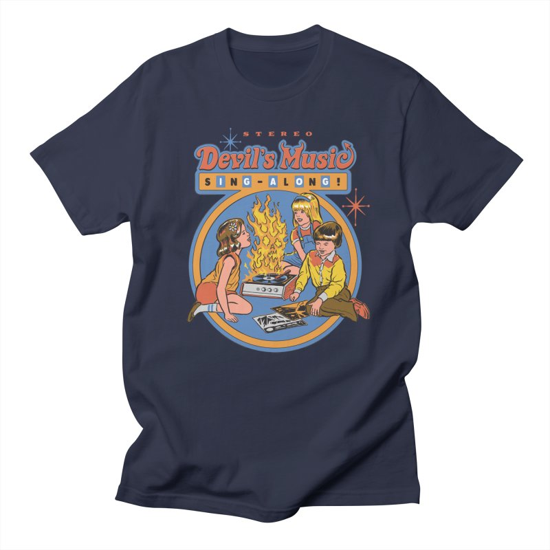 Devil's Music Sing-Along Men's T-Shirt by Steven Rhodes