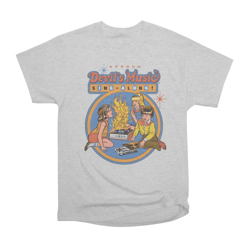 Devil's Music Sing-Along Men's Classic T-Shirt by Steven Rhodes