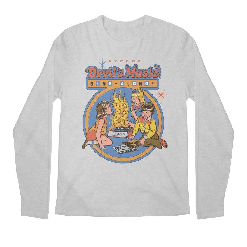 Devil's Music Sing-Along Men's Longsleeve T-Shirt by Steven Rhodes