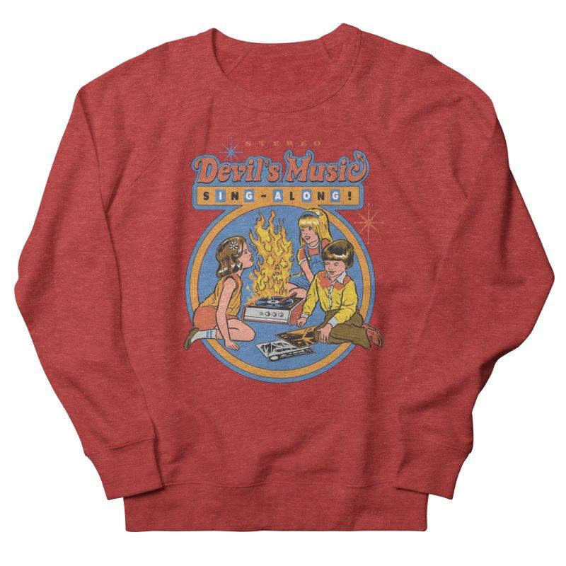 Devil's Music Sing-Along Women's Sweatshirt by Steven Rhodes