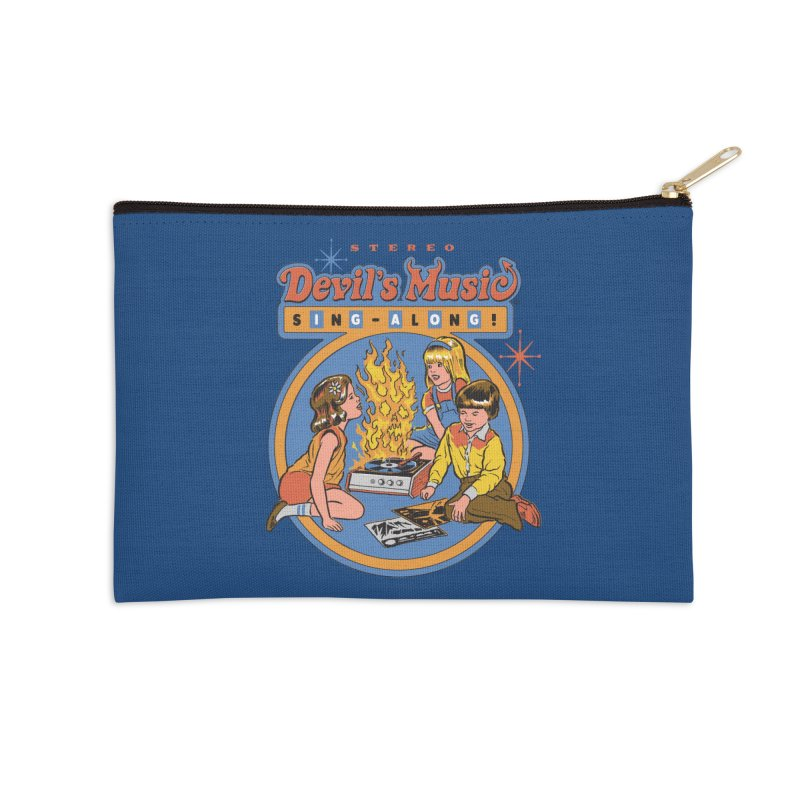 Devil's Music Sing-Along Accessories Zip Pouch by Steven Rhodes