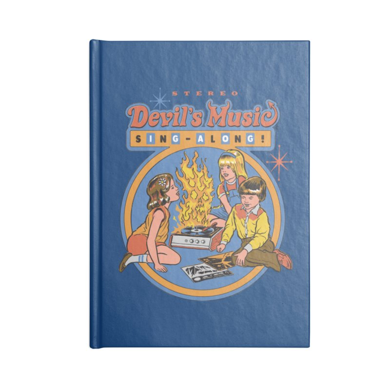 Devil's Music Sing-Along Accessories Notebook by Steven Rhodes