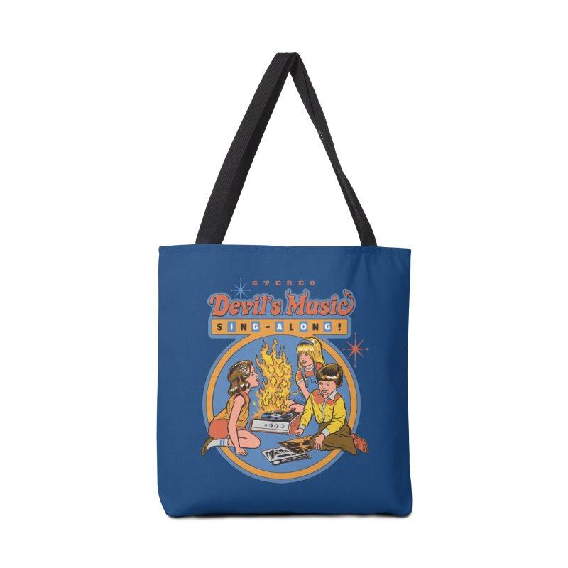 Devil's Music Sing-Along Accessories Bag by Steven Rhodes
