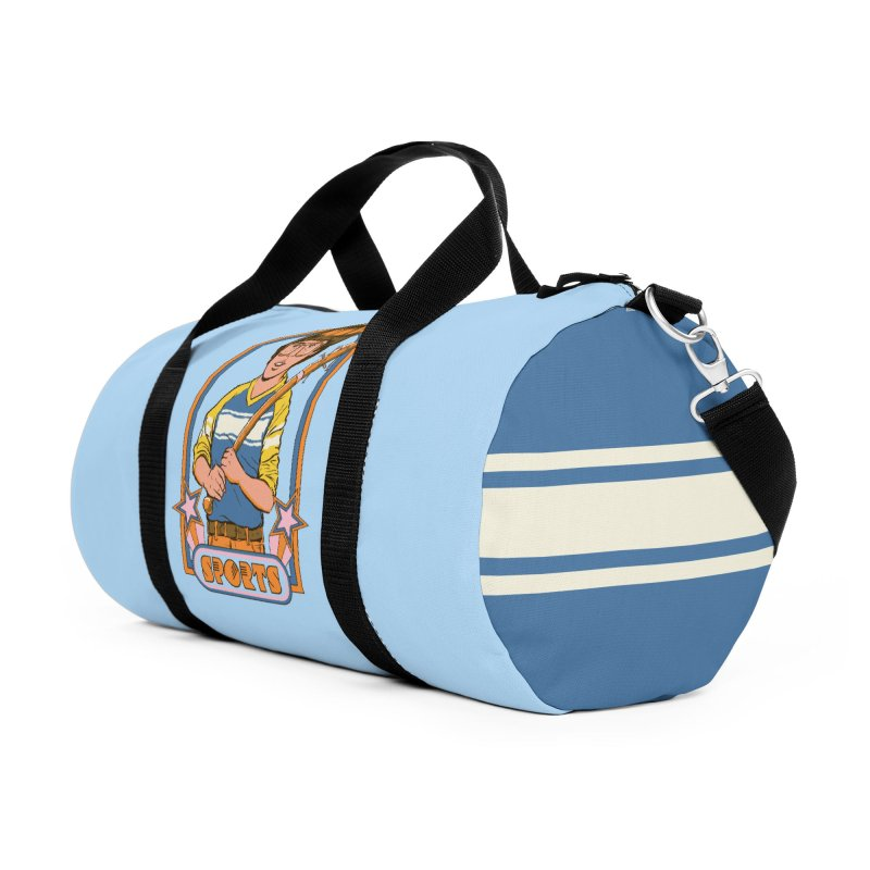 Extreme Sports Accessories Duffel Bag Bag by Steven Rhodes