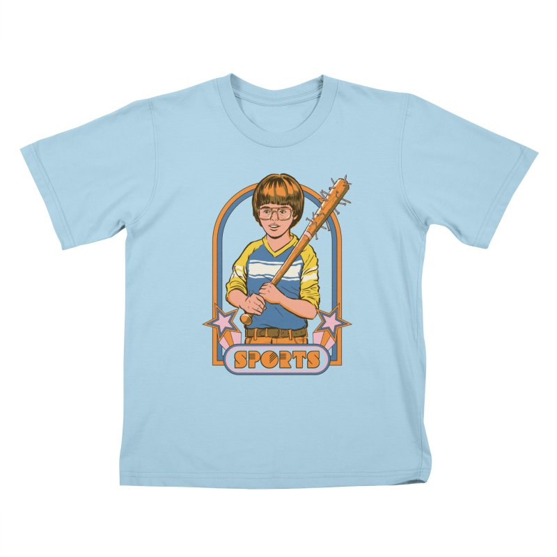 Extreme Sports Kids T-Shirt by Steven Rhodes