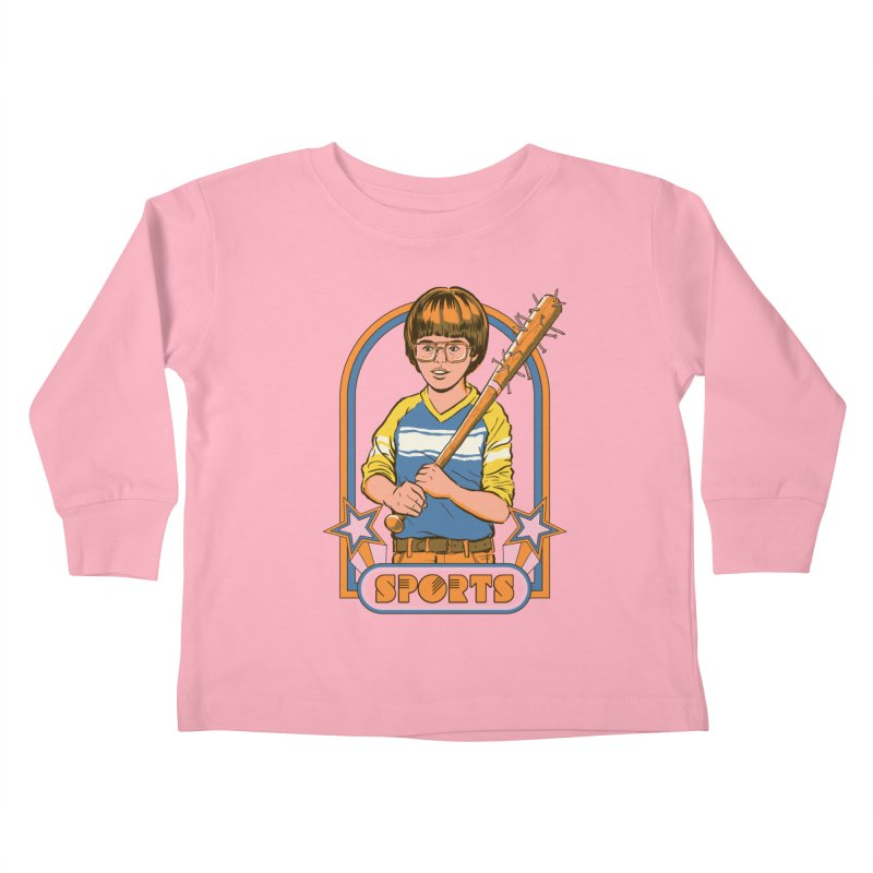 Extreme Sports Kids Toddler Longsleeve T-Shirt by Steven Rhodes