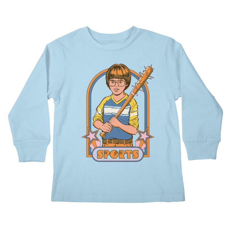 Extreme Sports Kids Longsleeve T-Shirt by Steven Rhodes