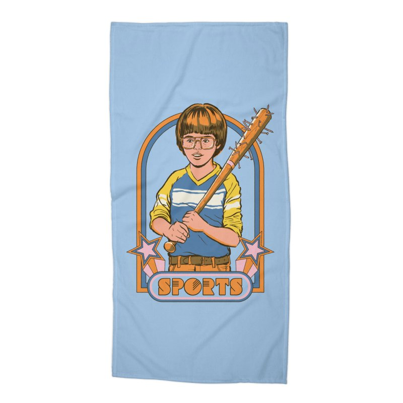 Extreme Sports Accessories Beach Towel by Steven Rhodes