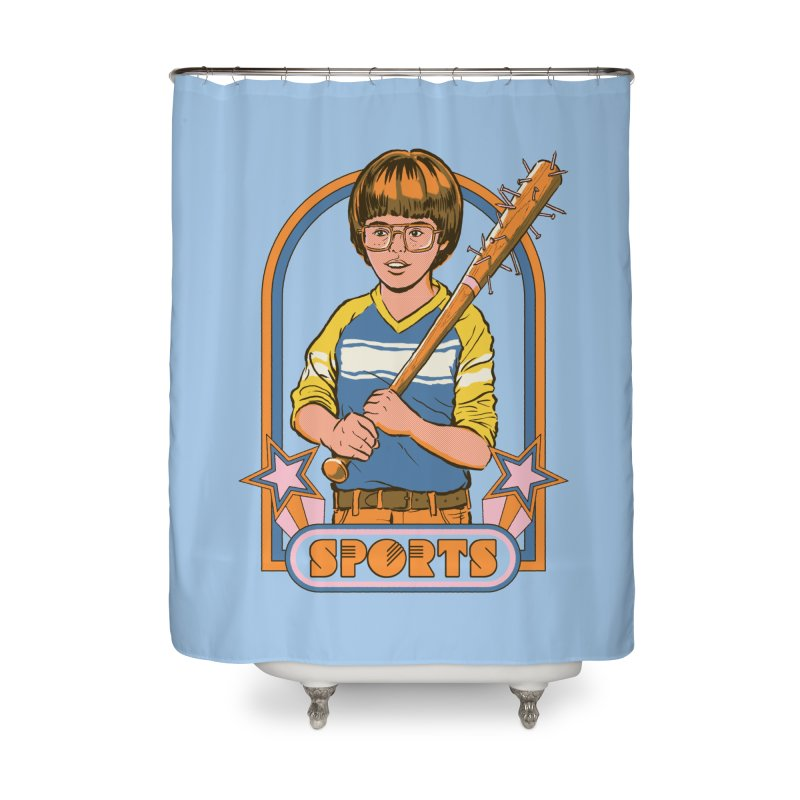 Extreme Sports Home Shower Curtain by Steven Rhodes