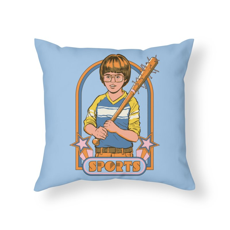 Extreme Sports Home Throw Pillow by Steven Rhodes