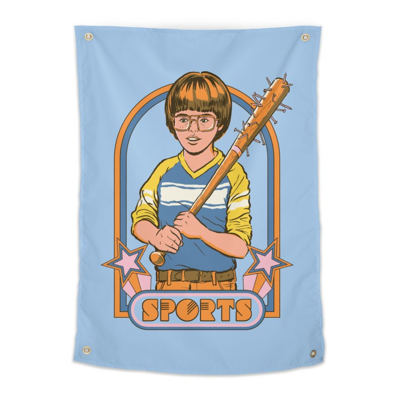 Extreme Sports Home Tapestry by Steven Rhodes