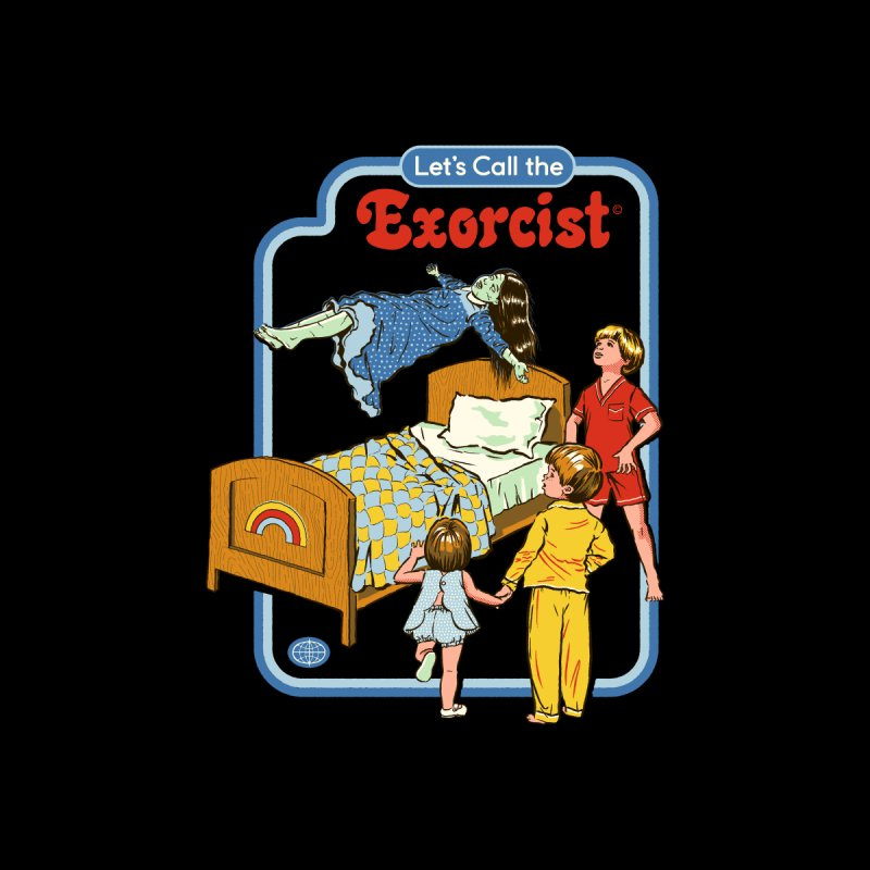 Let's Call the Exorcist Accessories Zip Pouch by Steven Rhodes