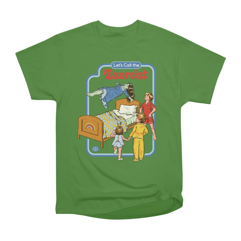 Let's Call the Exorcist Men's Classic T-Shirt by Steven Rhodes