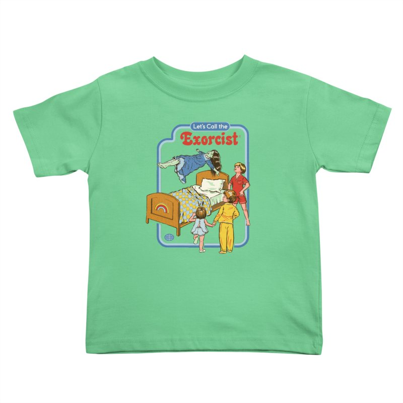Let's Call the Exorcist Kids Toddler T-Shirt by Steven Rhodes