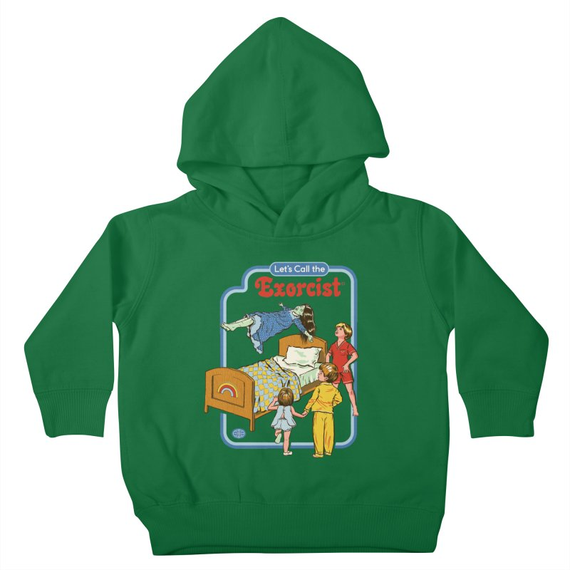 Let's Call the Exorcist Kids Toddler Pullover Hoody by Steven Rhodes