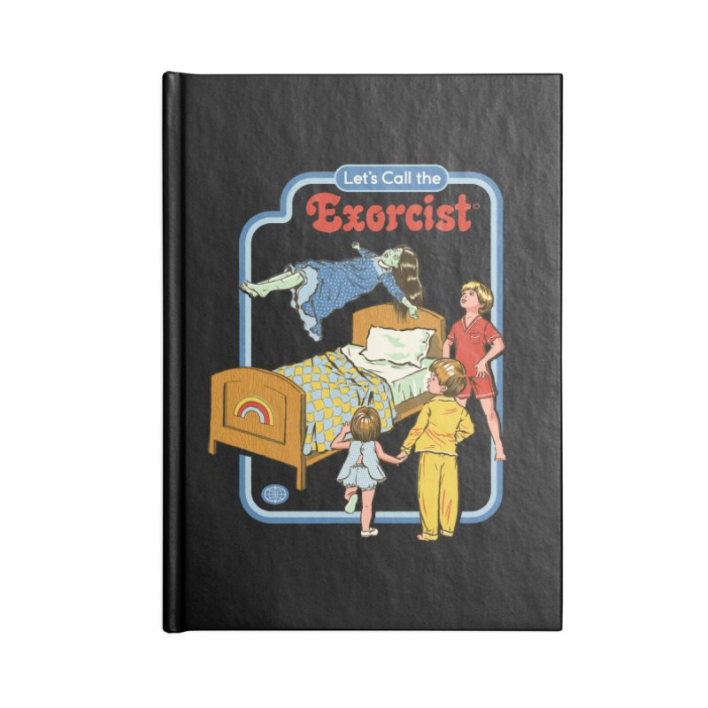 Let's Call the Exorcist Accessories Notebook by Steven Rhodes