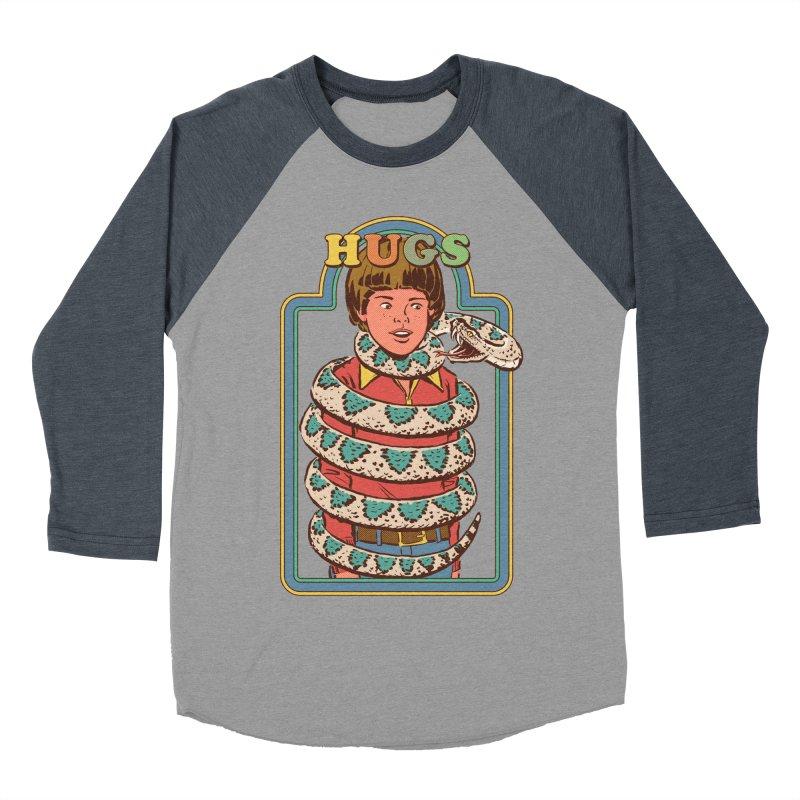 Hugsss Women's Baseball Triblend T-Shirt by Steven Rhodes