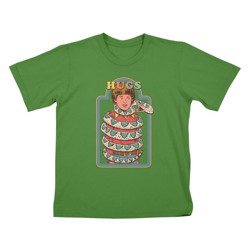 Hugsss Kids T-Shirt by Steven Rhodes