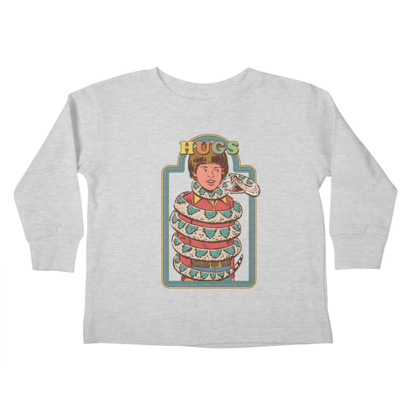 Hugsss Kids Toddler Longsleeve T-Shirt by Steven Rhodes