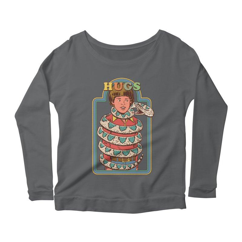 Hugsss Women's Scoop Neck Longsleeve T-Shirt by Steven Rhodes