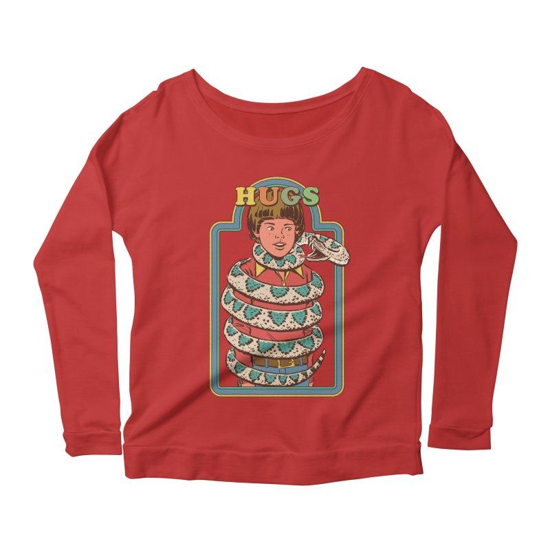 Hugsss Women's Scoop Neck Longsleeve T-Shirt by Steven Rhodes