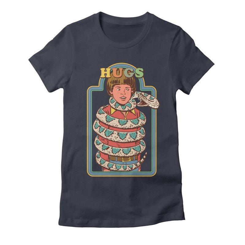 Hugsss Women's Fitted T-Shirt by Steven Rhodes